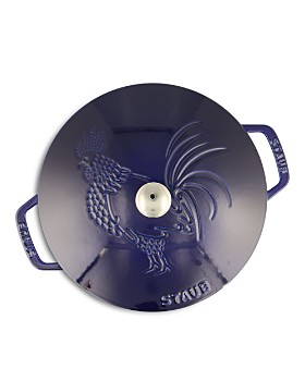 Staub - 3.75-Quart Essential French Oven, Rooster Lid