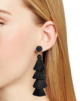 BAUBLEBAR - Gabriela Tiered Tassel Earrings
