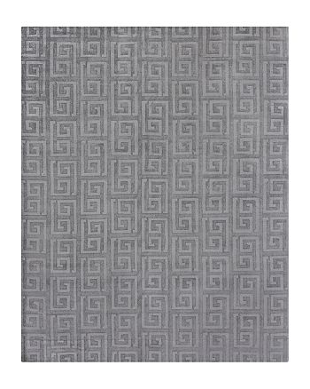 Exquisite Rugs - Christiansen Area Rug, Square Geometric 6' x 9'