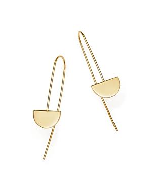 Zoe Chicco 14K Yellow Gold Horizon Wire Earrings