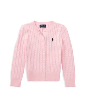Ralph Lauren - Girls' Cable-Knit Cardigan - Little Kid