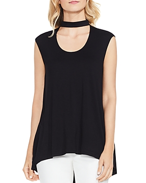 Vince Camuto Mock Choker Neck Top
