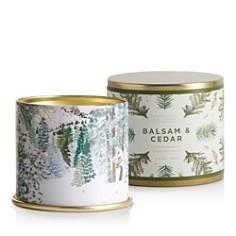 Illume Balsam & Cedar Large Tin Candle - Bloomingdale's_0