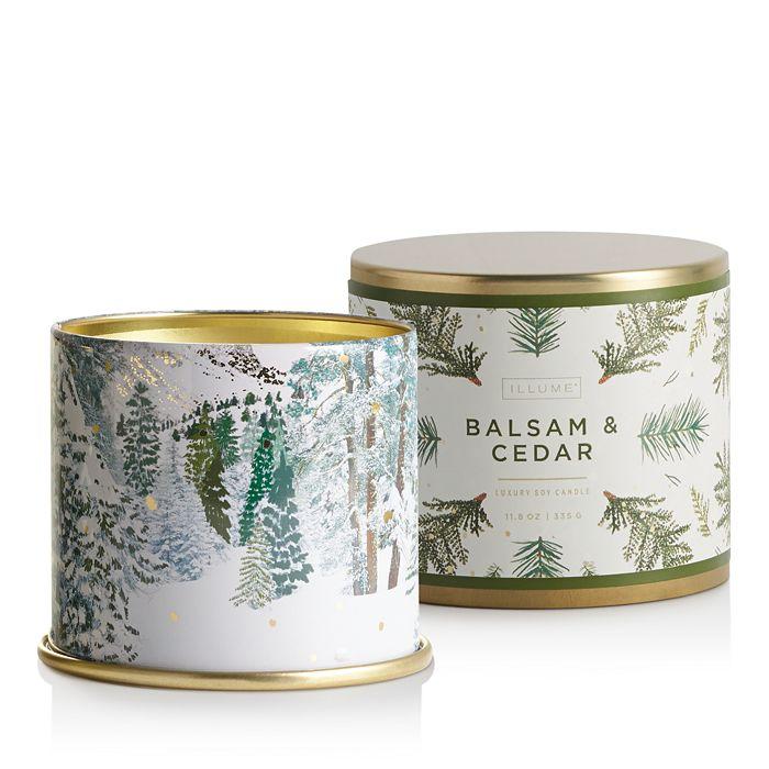 Illume - Balsam Cedar Large Tin Candle