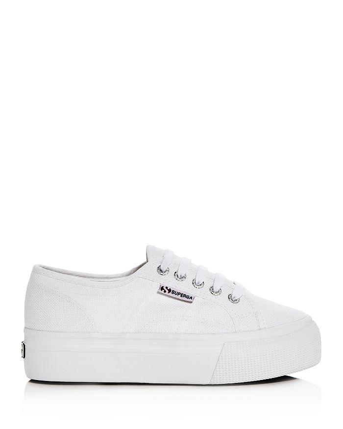 a32ccb61f433 Superga - Women s Linea Lace Up Platform Sneakers