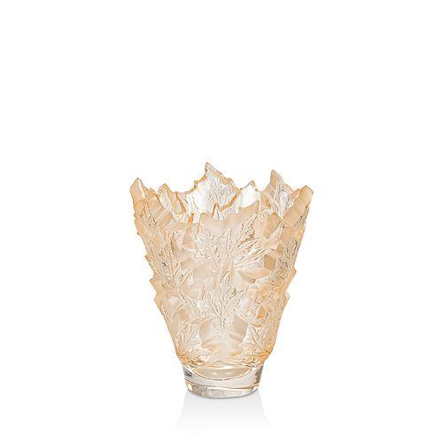 Lalique - Champs-Elysees Vase, Gold Luster