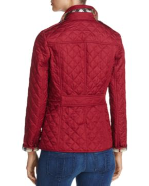 Burberry Ashurst Quilted Jacket - 100% Exclusive | Bloomingdales's : red burberry quilted jacket - Adamdwight.com