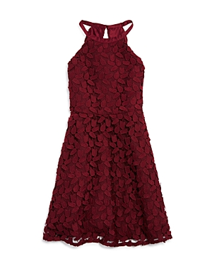 Bardot Junior Girls HighNeck LeafLace Dress  Big Kid