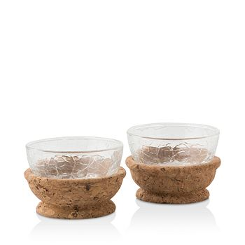 Juliska - Quinta Hugo Natural Pinch Bowls, Set of 2