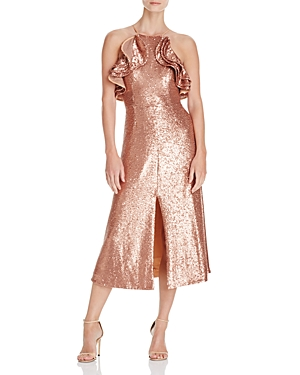 C/Meo Collective Illuminated Sequin Dress