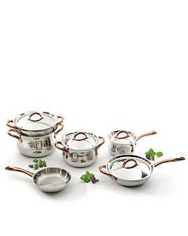 BergHOFF - 11-Piece Stainless Steel Studio Cookware Set