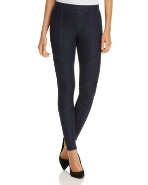 Hue Moto Essential Denim Leggings