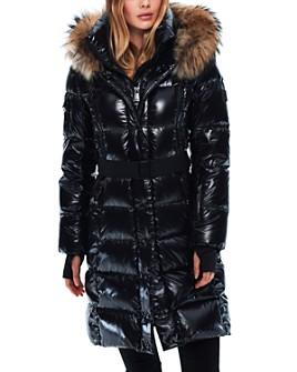 SAM. - Infinity Fur Trim Down Coat
