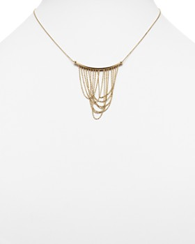 """Bloomingdale's - 14K Yellow Gold Draped Chain Pendant Necklace, 16"""" - 100% Exclusive"""