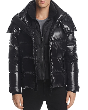 Sam. New Racer Hooded Puffer Coat
