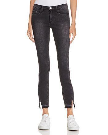Calvin Klein - Notch Skinny Jeans in Scraped Black