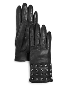 Bloomingdale's - Grommet and Stud Leather Glove - 100% Exclusive