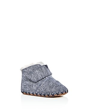 Toms Unisex Cuna Chambray Booties  Baby