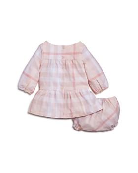 Burberry - Girls' Kloey Gathered Check Dress & Bloomers Set - Baby