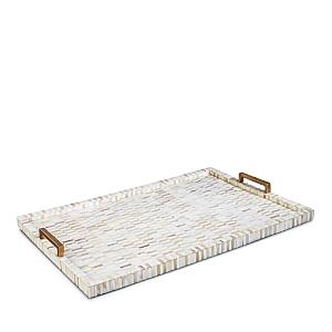 Regina Andrew Design Bone and Brass Tray