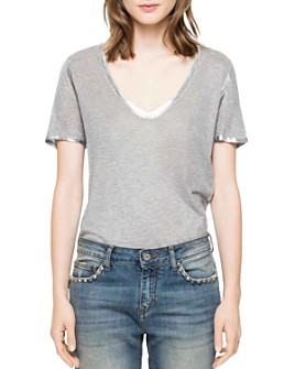Zadig & Voltaire - Tino Foil T-Shirt