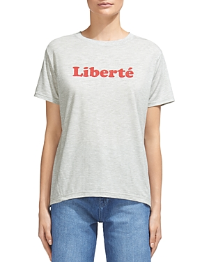 Whistles Liberte Graphic Tee