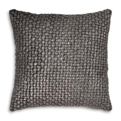 $Michael Aram Metallic Basketweave Decorative Pillow, 18
