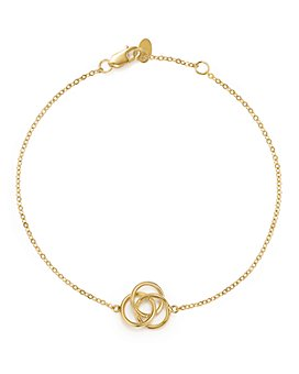 Bloomingdale's - 14K Yellow Gold Love Knot Bracelet - 100% Exclusive