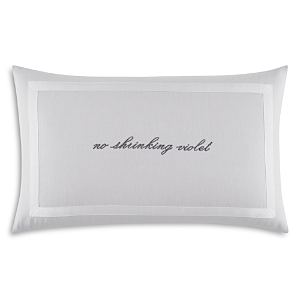 kate spade new york No Shrinking Violet Decorative Pillow, 12 x 20