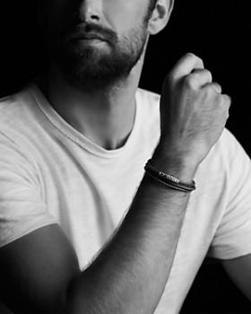 David Yurman - Chevron Triple-Wrap Bracelet