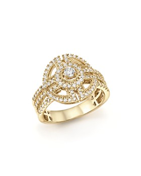 Bloomingdale's - Diamond Statement Ring in 14K Yellow Gold, .65 ct. t.w. - 100% Exclusive
