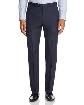 Armani - Cross Stitch Classic Fit Dress Pants