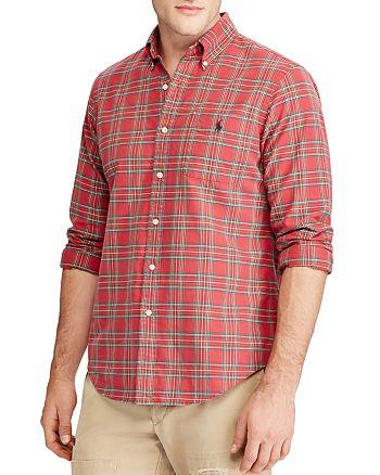 Polo Ralph Lauren - Plaid Oxford Long Sleeve Button-Down Shirt