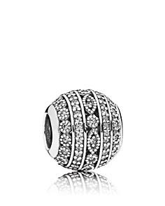 PANDORA Sterling & Cubic Zirconia Glittering Shapes Charm - Bloomingdale's_0