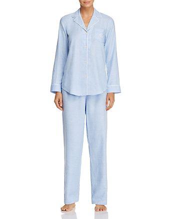 Ralph Lauren - Woven Long Pajama Set