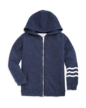 SOL ANGELES - Unisex Waves Zip Hoodie - Little Kid, Big Kid