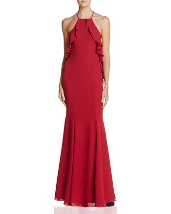 Fame and Partners - The Quasar Ruffle Gown