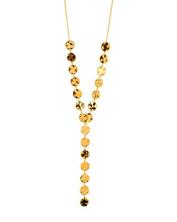 Gorjana - Chloe Lariat Necklace, 16""