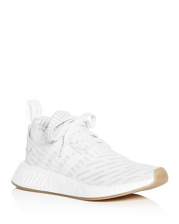 Adidas - Women s NMD R2 Knit Lace Up Sneakers f32481c9e
