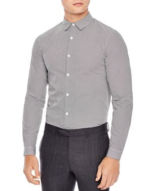 Sandro Swing Classic Fit Button-Down Shirt
