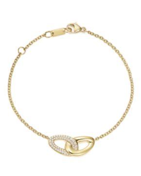 Ippolita 18K Gold Cherish Link Bracelet with Diamonds 8VCyRp