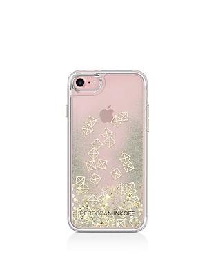 Rebecca Minkoff Liquid Glitter Emoji iPhone 7 Case