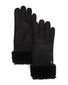 UGG Classic Sheepskin Turn Cuff Gloves - Bloomingdale's_0