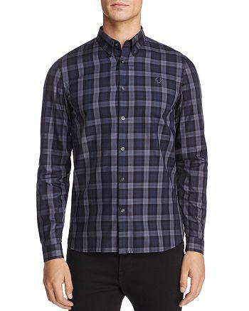Fred Perry - Winter Tartan Long Sleeve Regular Fit Button-Down Shirt