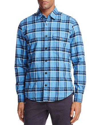 HUGO - Lalo Plaid Flannel Button-Down Shirt - 100% Exclusive