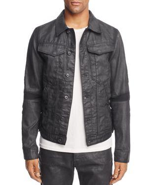 G-star Raw Motac 3D Coated Denim Jacket