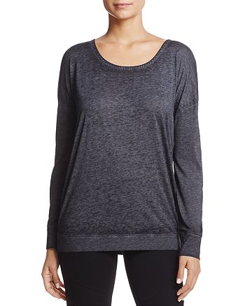 Marc New York - Heathered Strappy-Back Top