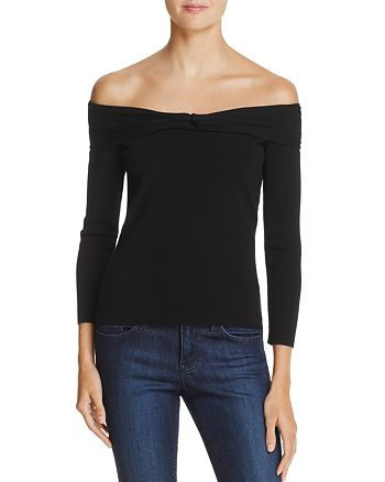 MILLY - Off-the-Shoulder Top