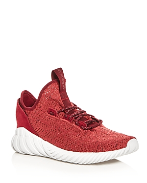 Adidas Men's Tubular Doom Primeknit Lace Up Sneakers