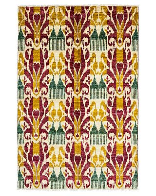 Solo Rugs Ikat Area Rug 8 4 X 5 1 Bloomingdale S